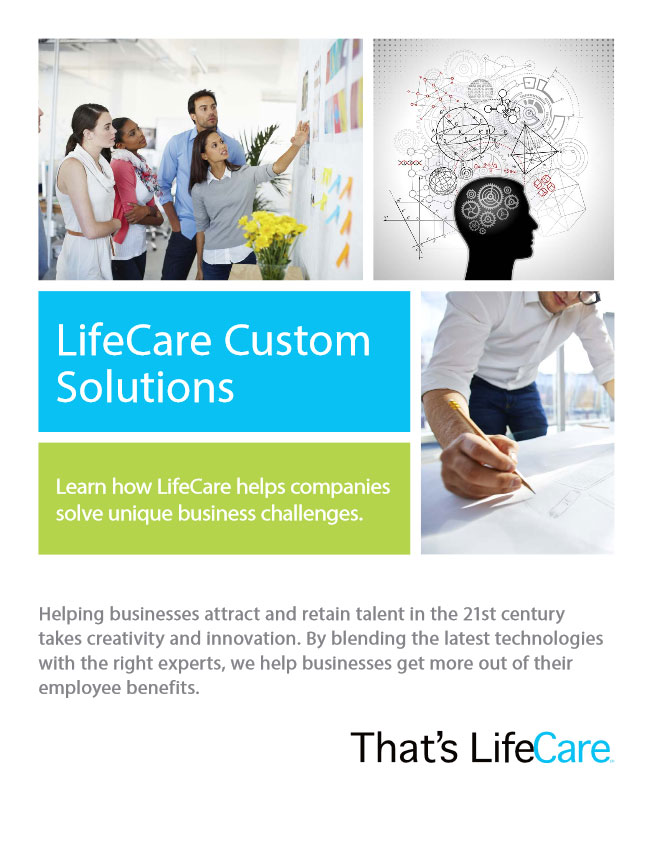 custom solutions brochure