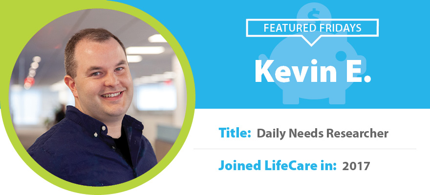 Featured Friday: Meet Kevin E.