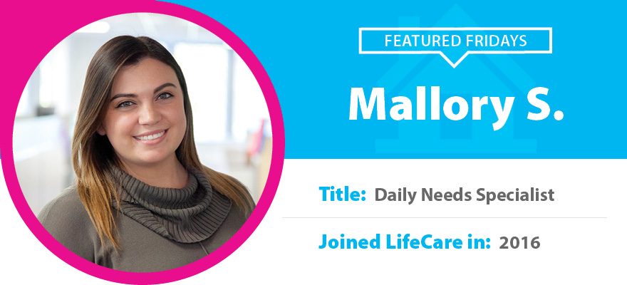 Featured Friday: Meet Mallory S.