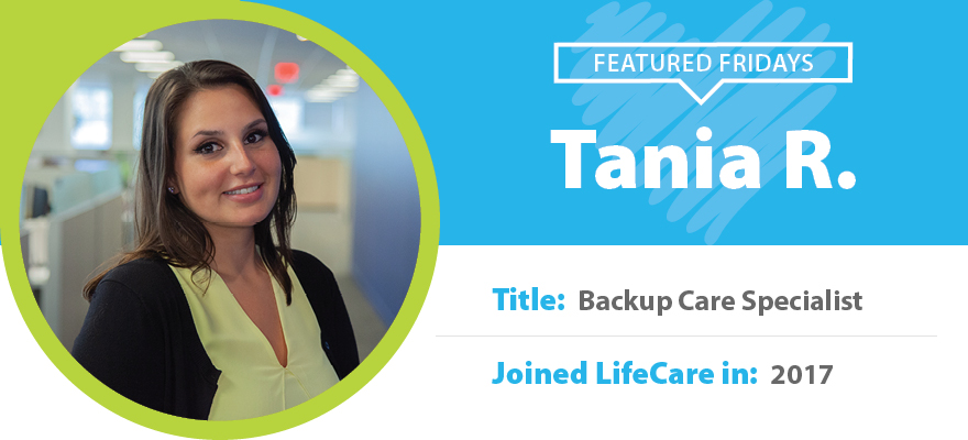 Featured Friday: Meet Tania R.