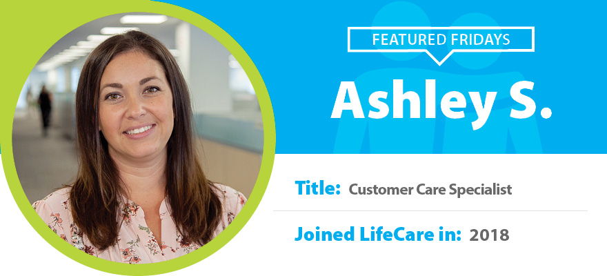 Featured Friday: Meet Ashley S.
