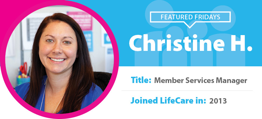 Featured Friday: Meet Christine H.